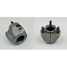 30mm Rear Hub - 3 Stud, twin Bolt GREY