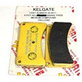 Kelgate 4 Pot adj KA4 and 6 pot brake pads - medium compound