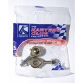 Track rod end set (male) x 2