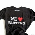 We Love Karting - Haase T-Shirt - Small/Black